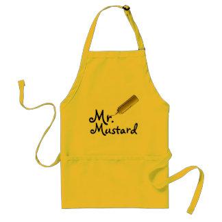 Señor Mustard Apron Delantal