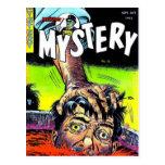 Señor Mystery Comics Postales