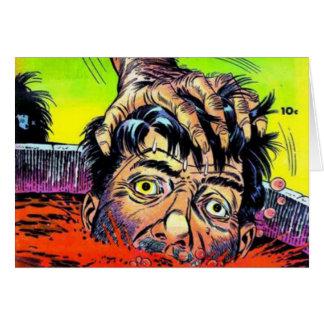 Señor Mystery Comics Tarjeta De Felicitación