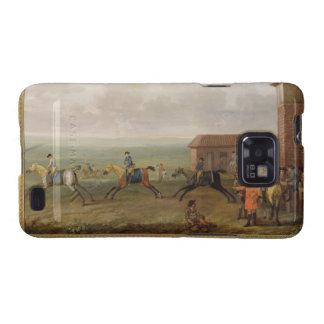 Señor Portmore Watching Racehorses en ejercicio en Samsung Galaxy S2 Fundas