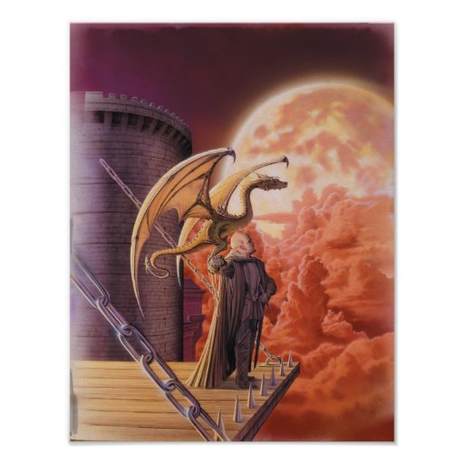 Señor Poster del dragón