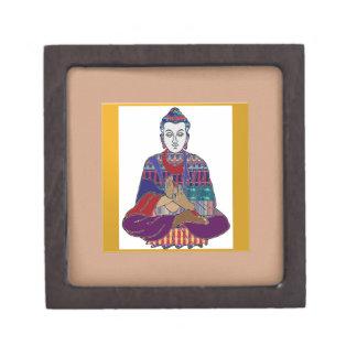 Señor principal Teacher Meditation del alcohol de Caja De Regalo De Calidad