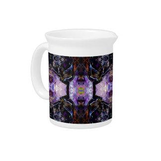 Señor púrpura de Natarajasana de la jarra de la