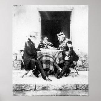Señor Raglan, bajá y general Pelissier de Omar, Póster