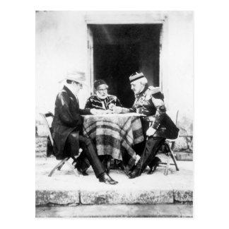 Señor Raglan, bajá y general Pelissier de Omar, Postal