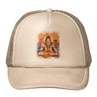 Señor Shiva Meditating Hat Gorras De Camionero