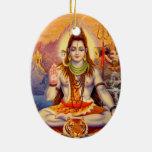 Señor Shiva Meditating Ornament Adornos