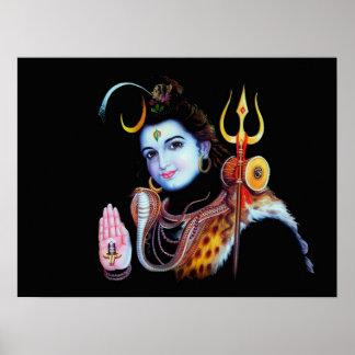 Señor Shiva Póster