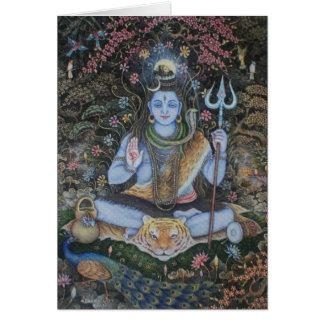 Señor Shiva Tarjeta De Felicitación