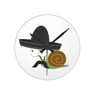 Señor Snail Wall Clocks
