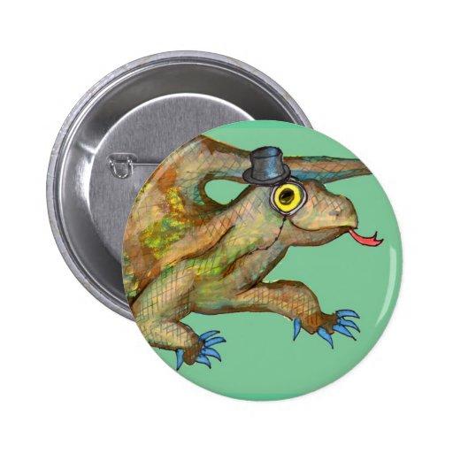 Señor Squigglebottom Fancypants Pin