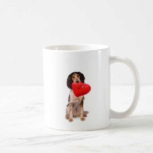 Señor Valentine Dog Taza Clásica