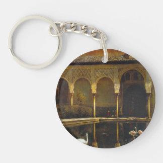 Señor Weeks- A Court de Edwin en Alhambra Llavero Redondo Acrílico A Una Cara