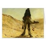 Señor Weeks- The Camel Rider de Edwin Felicitaciones
