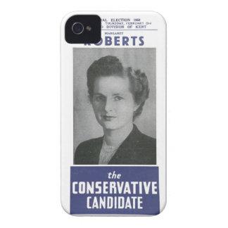 Señora 1950 Thatcher Election Poster Case-Mate iPhone 4 Coberturas