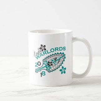 Señora 2018 Warlords - diseño blanco Tazas