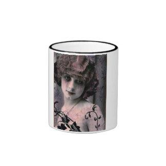 Señora 3 del vintage tazas