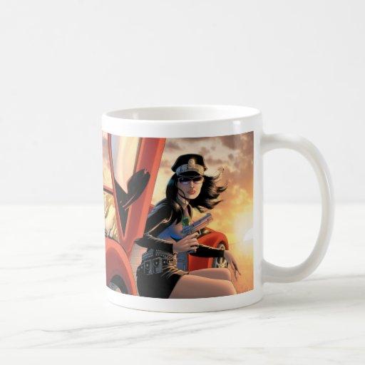 Señora Action Mug - ilustraciones de Paul Gulacy Taza De Café