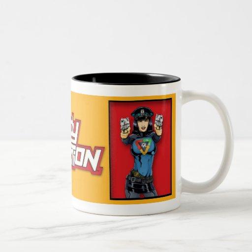 Señora Action Mug Taza Dos Tonos