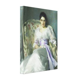 Señora Agnew Canvas Print de John Singer Sargent Lienzo Envuelto Para Galerías