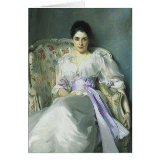 Señora Agnew Card de John Singer Sargent Tarjetas
