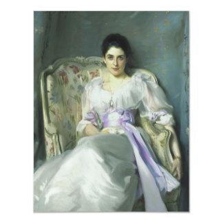 Señora Agnew de John Singer Sargent Invitación 10,8 X 13,9 Cm