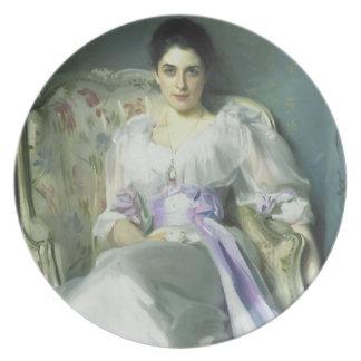 Señora Agnew de John Singer Sargent Plato