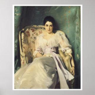 Señora Agnew de Lochnaw, 1892-93 Posters