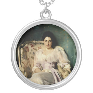 Señora Agnew de Lochnaw Collar Plateado