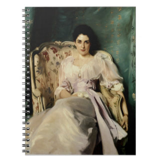 Señora Agnew de Lochnaw Libro De Apuntes Con Espiral