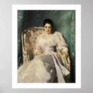 Señora Agnew de Lochnaw Posters