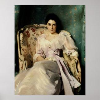Señora Agnew de Lochnaw Poster