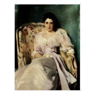 Señora Agnew de Lochnaw Tarjetas Postales