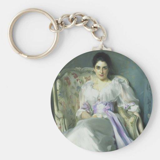 Señora Agnew Keychain de John Singer Sargent Llaveros