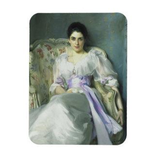 Señora Agnew Magnet de John Singer Sargent Imanes Rectangulares