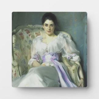 Señora Agnew Plaque de John Singer Sargent Placa
