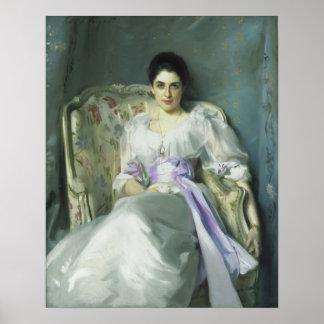 Señora Agnew Poster de John Singer Sargent