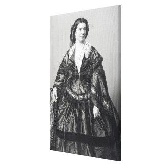 Señora Ana obispo Lona Envuelta Para Galerias
