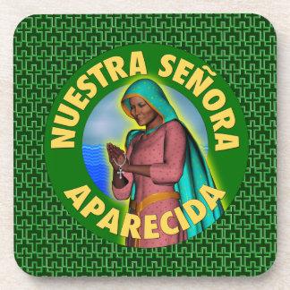 Señora Aparecida Beverage Coaster