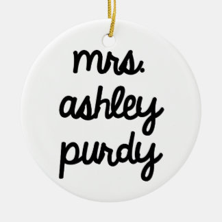 Señora Ashley Purdy Adorno Para Reyes