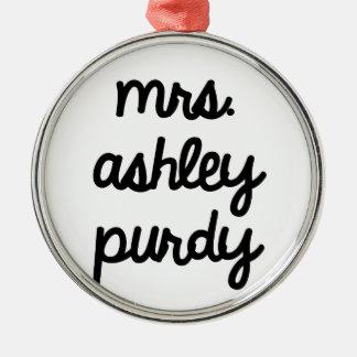 Señora Ashley Purdy Ornaments Para Arbol De Navidad