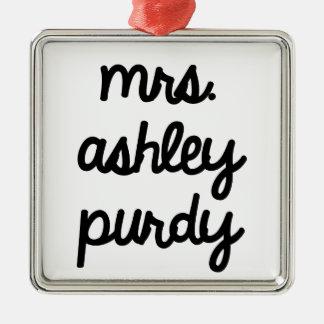 Señora Ashley Purdy Adornos