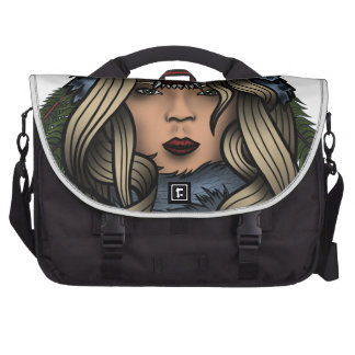 Señora astuta bolsas de ordenador