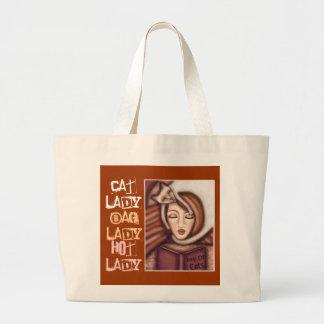 Señora Bag del gato siamés Bolsa De Mano