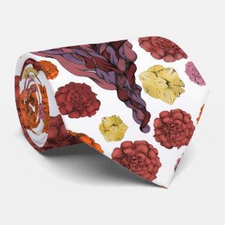 Señora barbuda ilustrada corbata personalizada