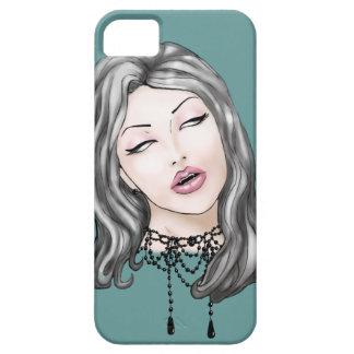 Señora Bloodlust iPhone 5 Fundas
