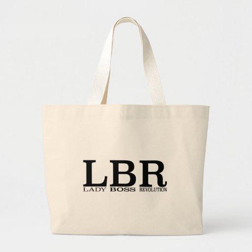 Señora Boss Revolution de LBR Bolsa Tela Grande