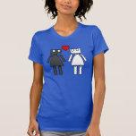 Señora Bots en amor Camiseta