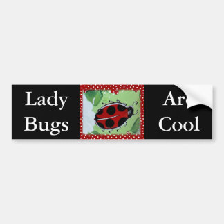 Señora Bug Pegatina Para Auto