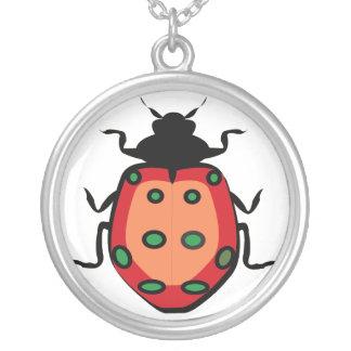 Señora Bug Colgante Redondo